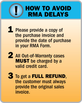 How to Avoid RMA Delays